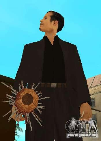 Bits sanglantes avec clous HD pour GTA San Andreas quatrième écran