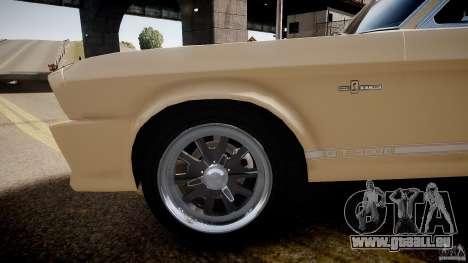 Shelby Mustang GT500 Eleanor v.1.0 Non-EPM pour GTA 4 Vue arrière