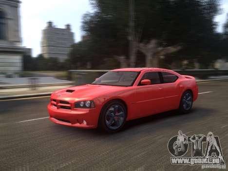 Dodge Charger SRT8 2006 pour GTA 4 Vue arrière