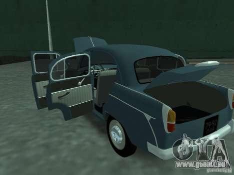 Moskvich 407 für GTA San Andreas Seitenansicht
