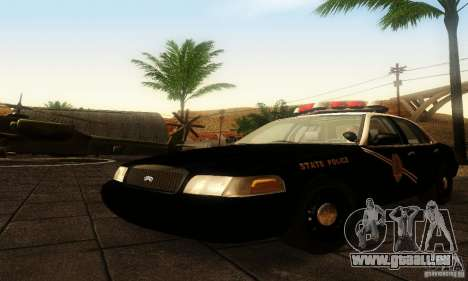 Ford Crown Victoria New Mexico Police pour GTA San Andreas
