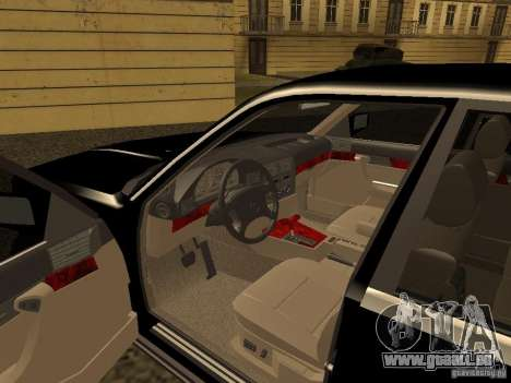 BMW 535i für GTA San Andreas Rückansicht