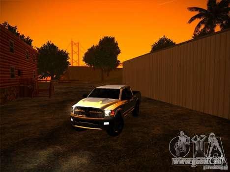 Dodge Ram Heavy Duty 2500 pour GTA San Andreas vue de droite