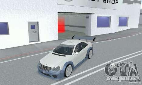 Mercedes-Benz CLK DTM AMG für GTA San Andreas Rückansicht