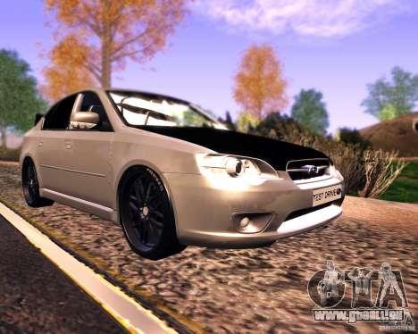 Subaru Legacy 3.0 R tuning v 2.0 pour GTA San Andreas