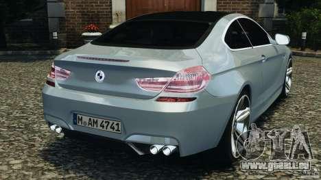 BMW M6 Coupe F12 2013 v1.0 pour GTA 4 Vue arrière de la gauche