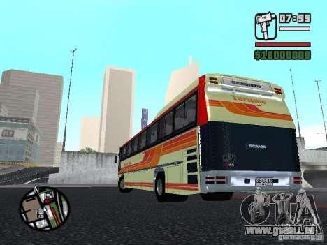 MARCOPOLO III SCANIA 112 für GTA San Andreas Innenansicht