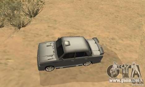 VAZ 2105 Night Hunter für GTA San Andreas Innenansicht