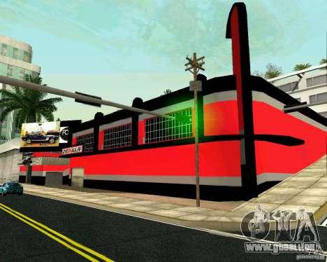 OVERHAULIN Workshop für GTA San Andreas zweiten Screenshot