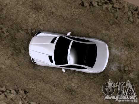Mercedes-Benz SLK55 AMG 2012 pour GTA San Andreas vue de dessous