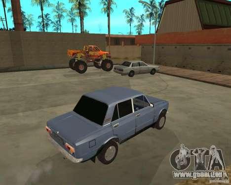Kopeyka (corrigé) pour GTA San Andreas vue de droite
