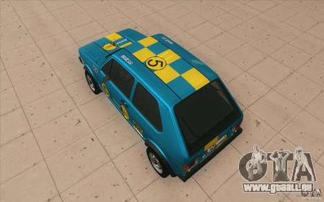 Volkswagen Golf Mk1 - Stock pour GTA San Andreas