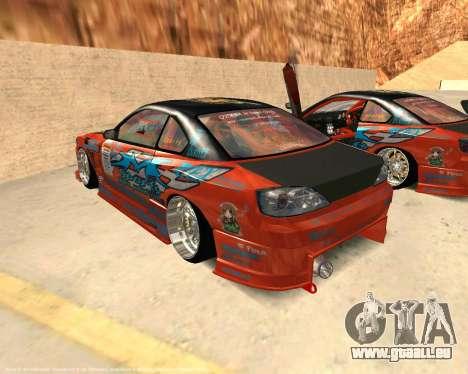 Nissan Silvia S15 Ms Sports pour GTA San Andreas laissé vue