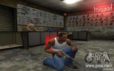 Barreta M9 and Barreta M9 Silenced für GTA San Andreas siebten Screenshot