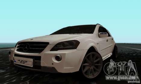 Mercedes Benz ML63 AMG pour GTA San Andreas