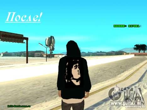 Vêtements avec Victor Coem pour GTA San Andreas quatrième écran