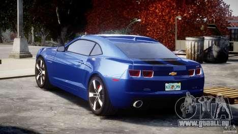 Chevrolet Camaro v1.0 pour GTA 4 Vue arrière de la gauche