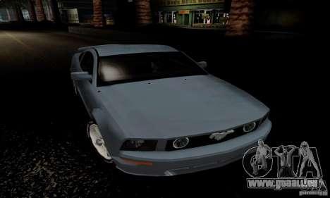 Ford Mustang GT für GTA San Andreas rechten Ansicht