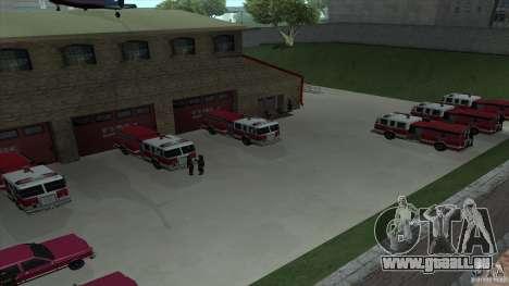 Le feu vif dans la v3.0 SF Final pour GTA San Andreas cinquième écran