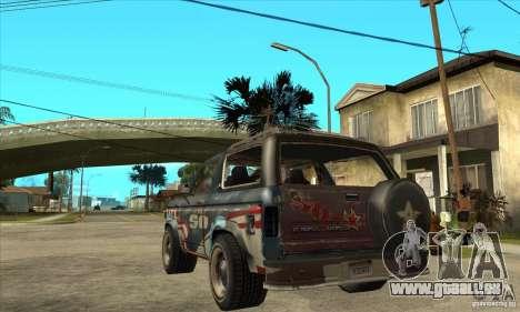 Blaster XL from FlatOut2 für GTA San Andreas zurück linke Ansicht