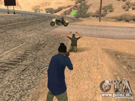 Geänderte System pedov für GTA San Andreas