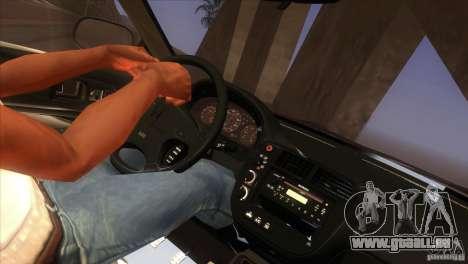 Honda Civic SI für GTA San Andreas Innen