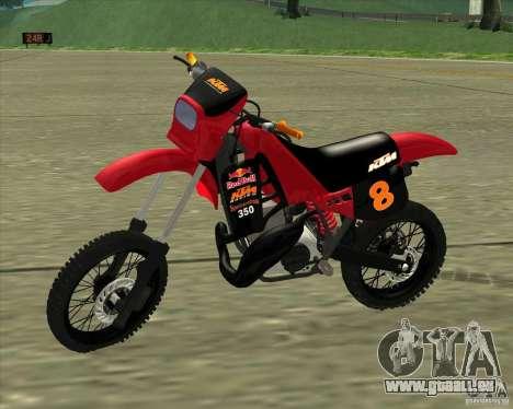 KTM 350 Redbull für GTA San Andreas