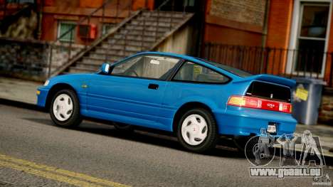 Honda CR-X SiR 1991 pour GTA 4 est une vue de l'intérieur