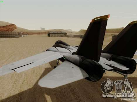 F-14 Tomcat Warwolf für GTA San Andreas rechten Ansicht