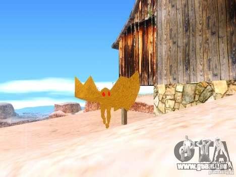 The Mothman pour GTA San Andreas deuxième écran