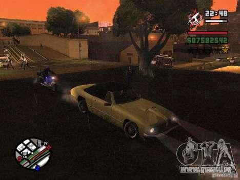 ENBSeries für GForce 5200 FX v3. 0 für GTA San Andreas zweiten Screenshot