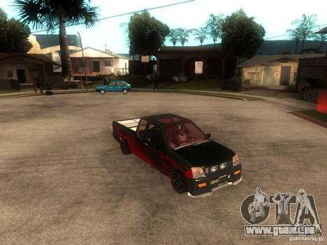 Isuzu D-Max pour GTA San Andreas vue de droite