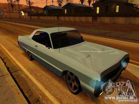 Plymouth Fury Sport 1970 pour GTA San Andreas