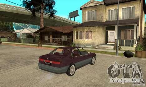 Alfa Romeo 164 3.0 V6 1987 pour GTA San Andreas vue de droite