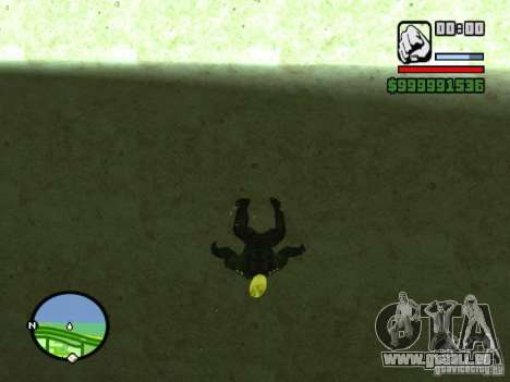Ghost Ryder Skin pour GTA San Andreas troisième écran