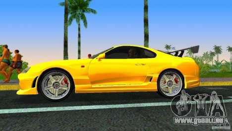Toyota Supra JZA80 C-West für GTA Vice City rechten Ansicht