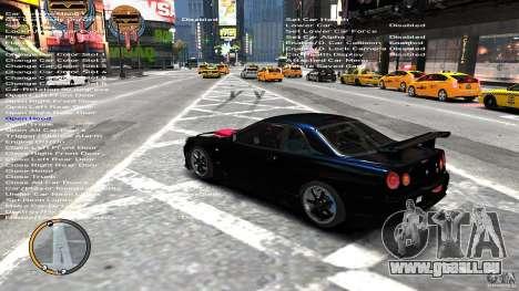 Nissan SkyLine R34 GT-R V-spec II pour GTA 4 Vue arrière de la gauche