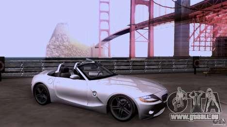 BMW Z4 V10 für GTA San Andreas
