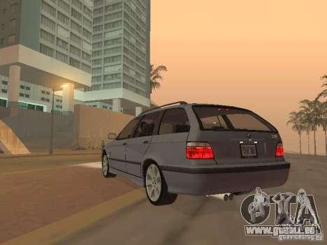 BMW 318 Touring pour GTA San Andreas vue arrière
