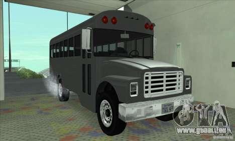 Civil Bus pour GTA San Andreas laissé vue