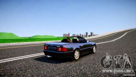 Mercedes SL 500 AMG 1995 pour GTA 4 est un droit