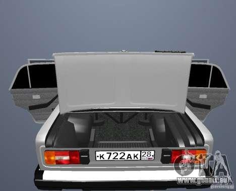 VAZ 21063 für GTA San Andreas Innenansicht