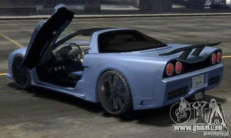 Acura NSX Veilside Fortune v 1.0 für GTA 4 linke Ansicht