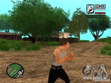 Réalité parfaite pour GTA San Andreas troisième écran
