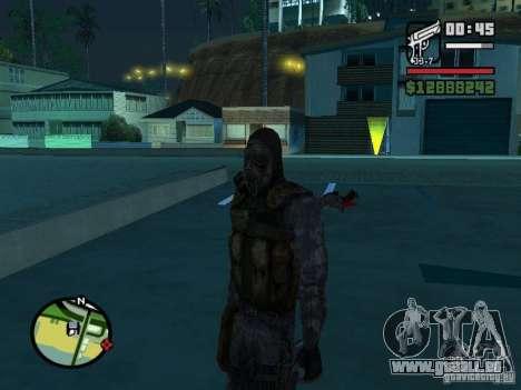 Stalker Söldner in der neuen kombeze für GTA San Andreas zweiten Screenshot