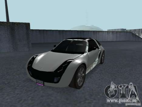Smart Roadster Coupe für GTA San Andreas