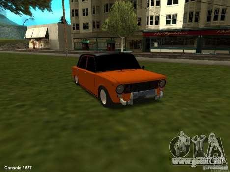 VAZ 2101 Hobo pour GTA San Andreas vue de droite