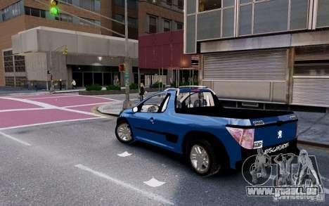Peugeot Hoggar Escapade pour GTA 4 est une gauche