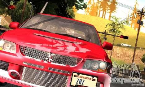 ENBSeries RCM für den schwachen PC für GTA San Andreas zweiten Screenshot