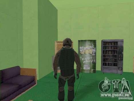 Pilote militaire pour GTA San Andreas troisième écran